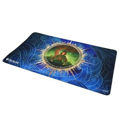 Tapis de Jeu Magic the Gathering Playmat - Strixhaven Archive Mystique - Résister à la tempête - 60cm x 34cm
