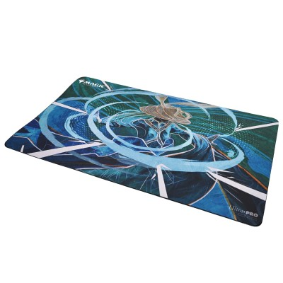 Tapis de Jeu Magic the Gathering Playmat - Strixhaven Archive Mystique - Déni tourbillonnant - 60cm x 34cm