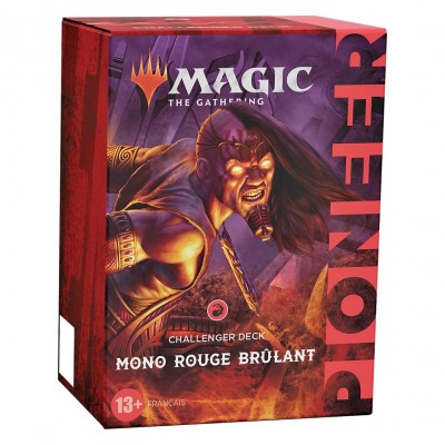 Deck Magic the Gathering Deck Challenger Pioneer 2021 - Mono rouge brulant
