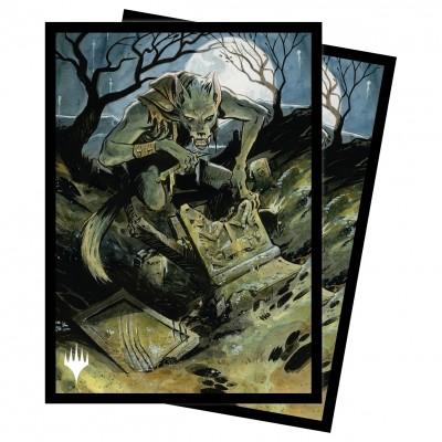 Protèges Cartes illustrées Magic the Gathering Innistrad : chasse de minuit - Graveyard Glutton