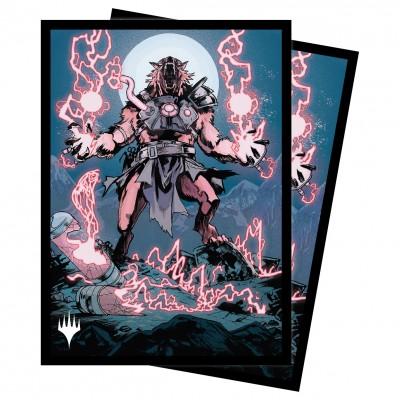 Protèges Cartes illustrées Magic the Gathering Innistrad : chasse de minuit - Storm-Charged Slashe