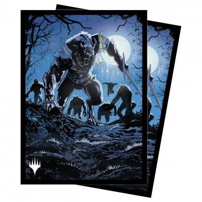 Protèges Cartes illustrées Magic the Gathering Innistrad : chasse de minuit - Tovolar, the Midnight Scourge