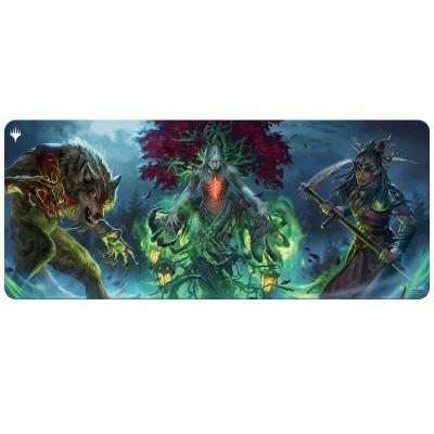 Tapis de Jeu Magic the Gathering Innistrad : chasse de minuit - MOYEN TAPIS de Draft - Set Booster Key Art - 183cm x 76cm