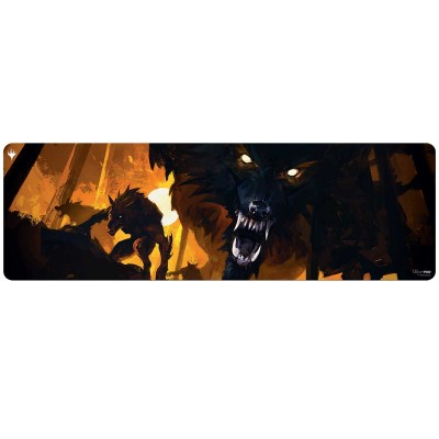Tapis de Jeu Magic the Gathering Innistrad : chasse de minuit - GRAND TAPIS de Draft - Draft Booster Key Art - 243cm x 76cm (8 personnes)