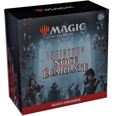 Booster Magic the Gathering Innistrad : Noce Écarlate - Pack d'Avant Première