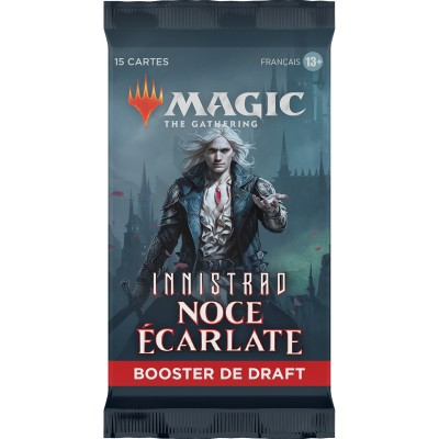 Booster Magic the Gathering Innistrad : Noce Écarlate - Booster de draft