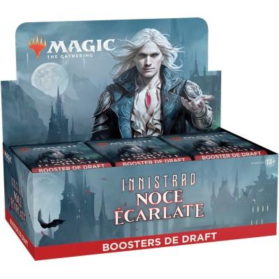 Boite de Boosters Magic the Gathering Innistrad : Noce Écarlate - 36 Boosters de Draft