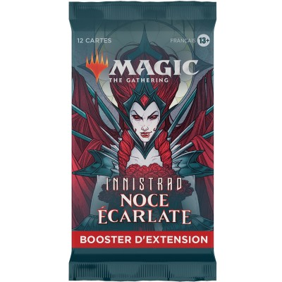 Booster Magic the Gathering Innistrad : Noce Écarlate - Booster d'Extension