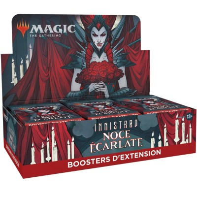 Boite de Boosters Magic the Gathering Innistrad : Noce Écarlate - 30 Boosters d'Extension
