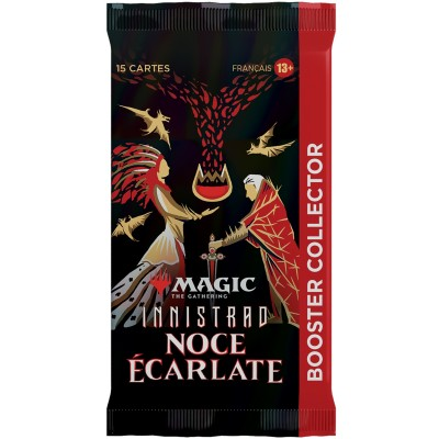 Booster Magic the Gathering Innistrad : Noce Écarlate - Booster Collector