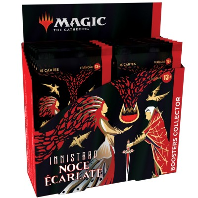 Boite de Boosters Magic the Gathering Innistrad : Noce Écarlate - 12 Boosters Collector