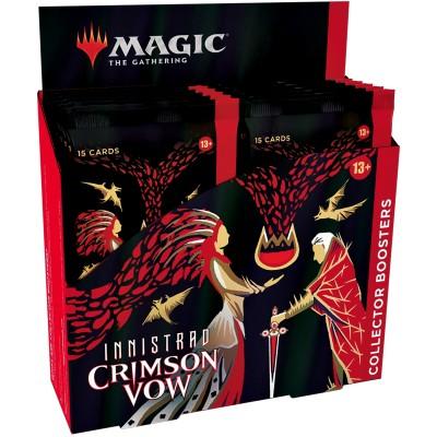 Boite de Boosters Magic the Gathering Innistrad: Crimson Vow - 12 Collector Boosters