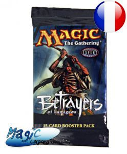 Booster Magic the Gathering Traîtres de Kamigawa