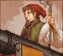 Pirates of Davy Jones' Curse Pirates --127--Cannoneer (Treasure) -   Pirates of Davy Jones' Curse - 127