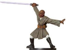 Star Wars Miniatures - Clone Strike Star Wars Miniatures 19 - Mace Windu [Star Wars Miniatures - Clone Strike]