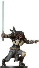 Star Wars Miniatures - Clone Strike 24 - Quinlan Vos [Star Wars Miniatures - Clone Strike]