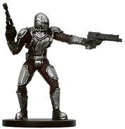 Bounty Hunters Star Wars Miniatures 57 - Mandalorian Commander [Star Wars Miniatures - Bounty Hunters]