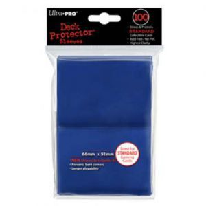 Protèges Cartes Accessoires Pour Cartes 100 pochettes - Deck Protector - Bleu