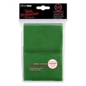 Protèges Cartes 100 pochettes Ultra Pro - Vert - ACC