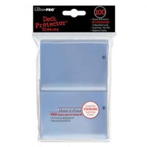 Protèges Cartes  100 pochettes - Deck Protector - Transparent