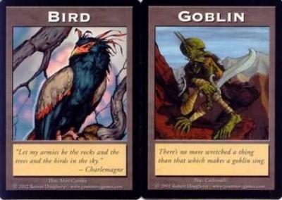 Tokens Magic Accessoires Pour Cartes Double Token/Jeton - Bird / Goblin
