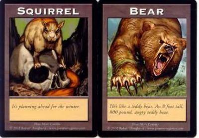 Tokens Magic Double Token/Jeton - Squirrel / Bear