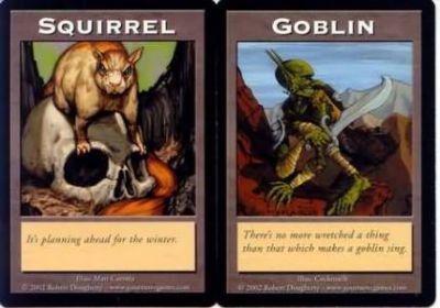 Tokens Magic Accessoires Pour Cartes Double Token/Jeton - Squirrel / Goblin