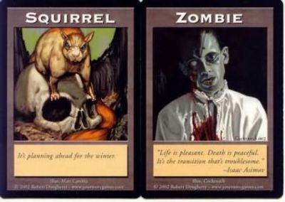 Tokens Magic Magic the Gathering Double Token/Jeton - Squirrel / Zombie