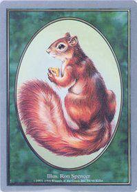 Tokens Magic Magic the Gathering Token Unglued: Squirrel