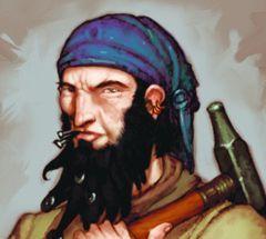 Pirates of the Ocean's Edges Pirates 123 - Shipwright (Pirate) [Pirates at Ocean's Edges]