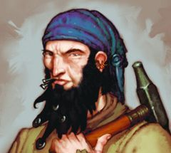 Pirates of the Ocean's Edges Pirates 127 - Shipwright (America) [Pirates at Ocean's Edges]