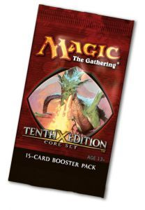 Boosters Magic the Gathering 10ème Edition