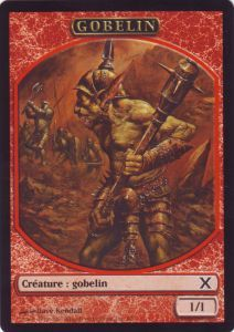 Tokens Magic Magic the Gathering Token Officiel Magic: Gobelin ( Symbole 10th Ed )